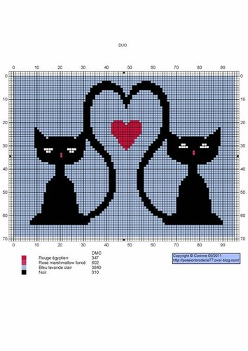 Всем любителям вышивки и кошек - посвящается, этот кошачий монохром.  Схемы для вышивки прилагаются и Вы сможете...