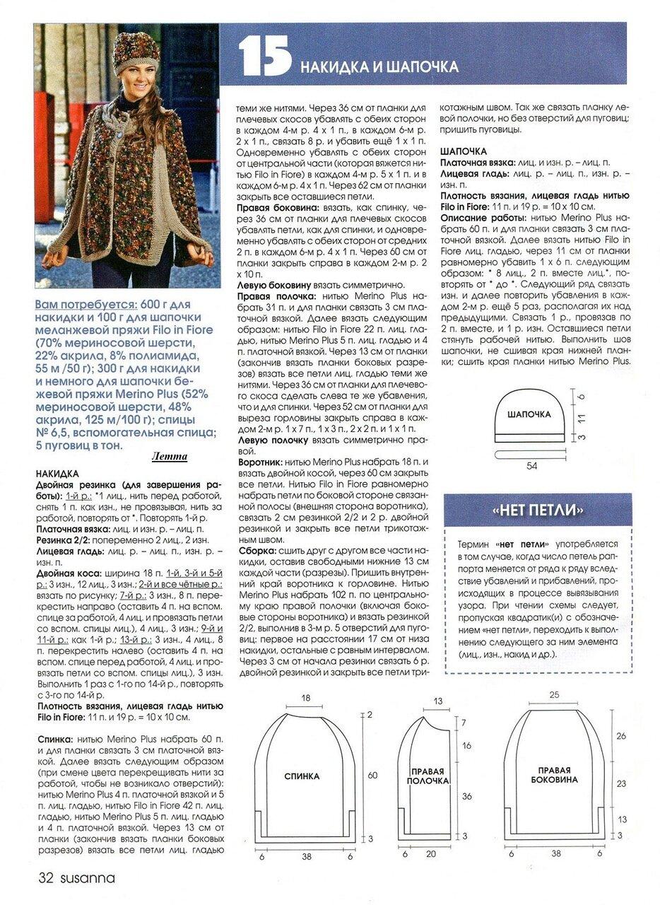 Буклированная пряжа: особенности вязания (фото) 60