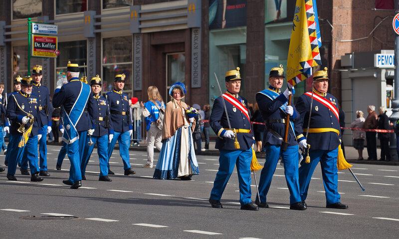 Военный оркестр австрийцев