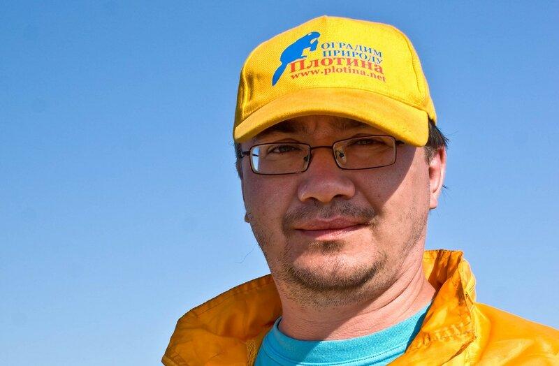 Александр Колотов (экспедиция по Нижнему Приангарью, 2010 год)