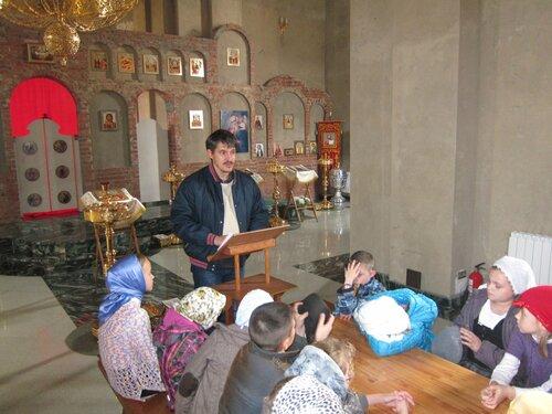 Открытый урок Молодежного центра Пироговской воскресной школы.