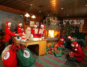 Открытие новогодней сказки в Финляндии