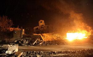 70 ударов нанесли израильские ВВС по сектору Газа