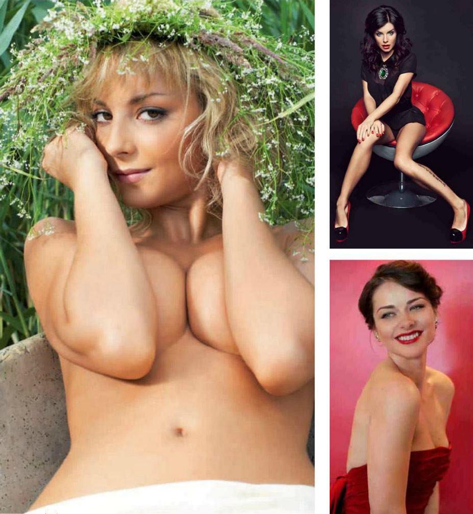 Дарья Сагалова, Юля Волкова, Марина Александрова - 100 самых сексуальных женщин страны - Россия Maxim hot 100