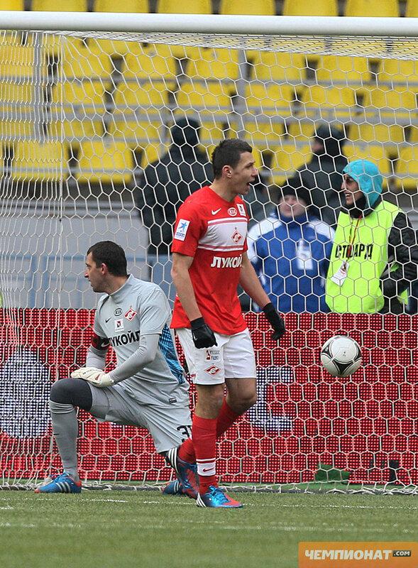 «Спартак» vs «Динамо» 1:5 Премьер-лига 2012-2013 (Фото)