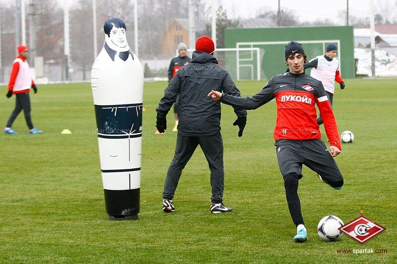 «Спартак» готовится к матчу с «Зенитом» (Фото)