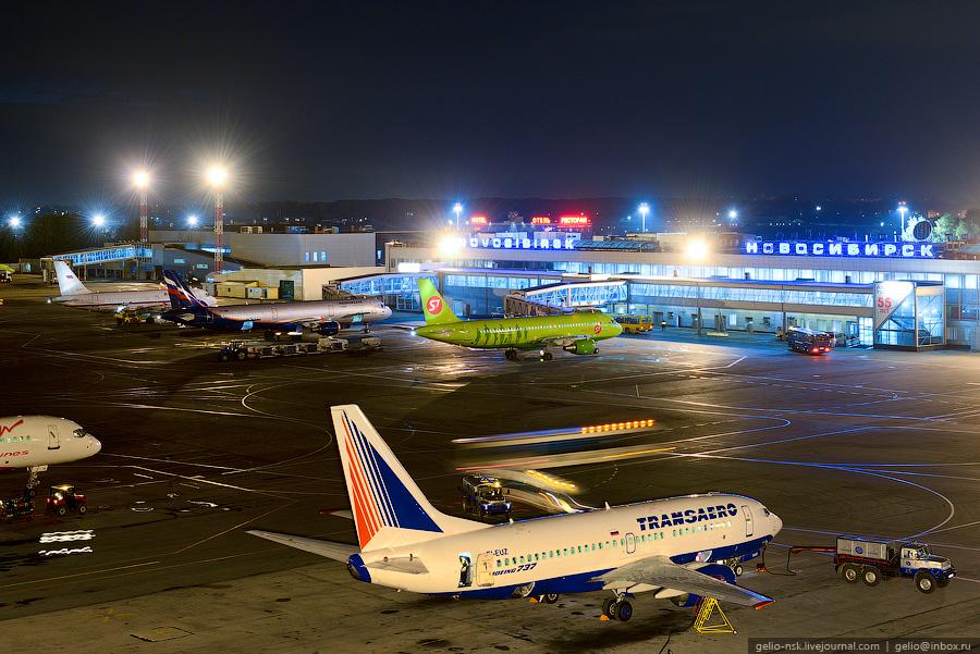 Новосибирский аэропорт
