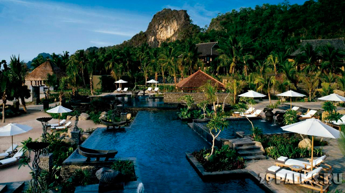 Малайзия. Лангкави. Four Seasons Resort Langkawi. Pool