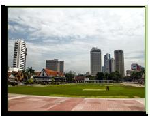 Малайзия. Куала-Лумпур. Площадь Независимости (Dataran Merdeka). Фото Segmed87 - Depositphotos