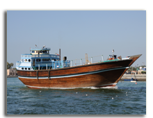 ОАЭ. Дубаи. Dhow at Dubai Creek, United Arab Emirates. Фото  Philip Lange - shutterstock