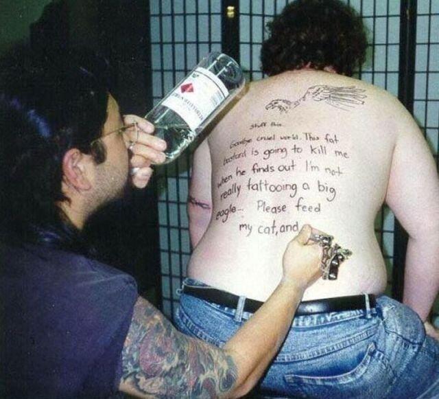 Коварный татуировщик