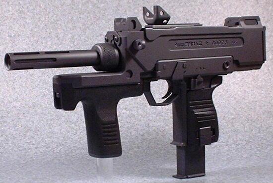 Пистолет-пулемёт Minebea PM-9 (M-9) / 9mm機関けん銃