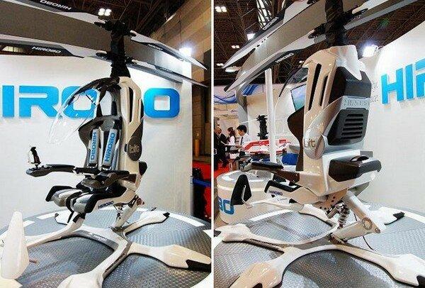 электрический вертолет Hirobo