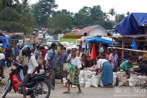 индонезийский рынок как он есть