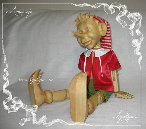 Деревянная кукла своими руками мастер класс