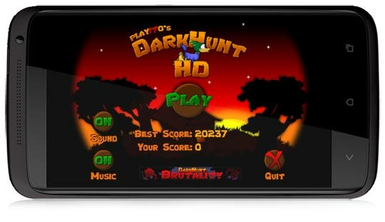 Игра DarkHunt HD охота для Android OS