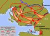 Великая Отечественная война - Карты сражений