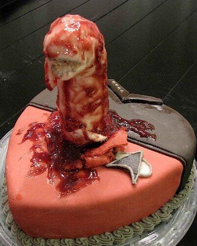 Страхуительный торт