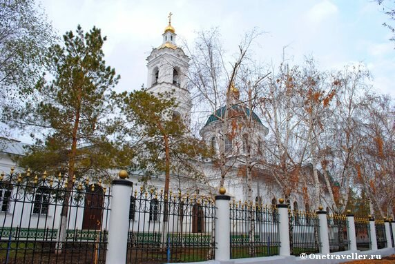Никольский кафедральный собор Оренбурга (1886 г.)
