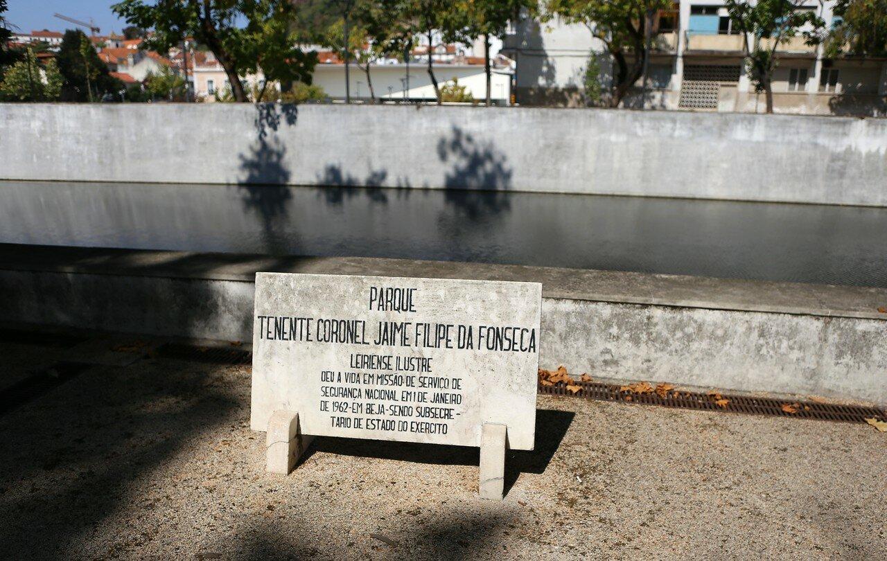 Leiria. Park of aviation (Parque do Avião)