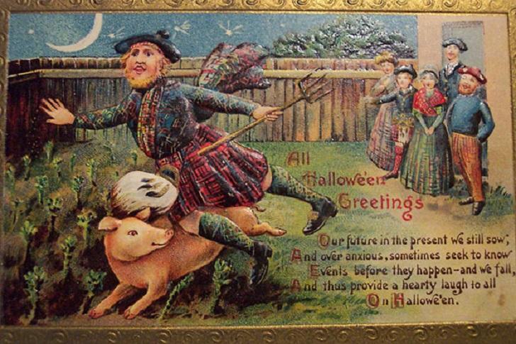 12. Некогда Хеллоуин праздновался в США как день шотландской гордости — похожий на то, как ирландцы