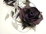 Крупная роза на шторы