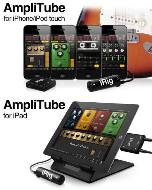 AmpliTube for iPhone & iPad [v2.2.1, Музыка, iOS 3.1, ENG]