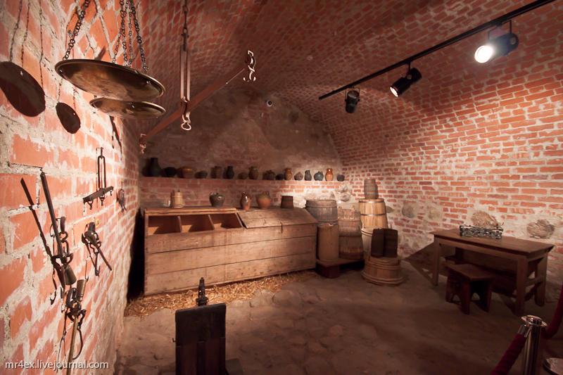 Подземелье Мирского замка