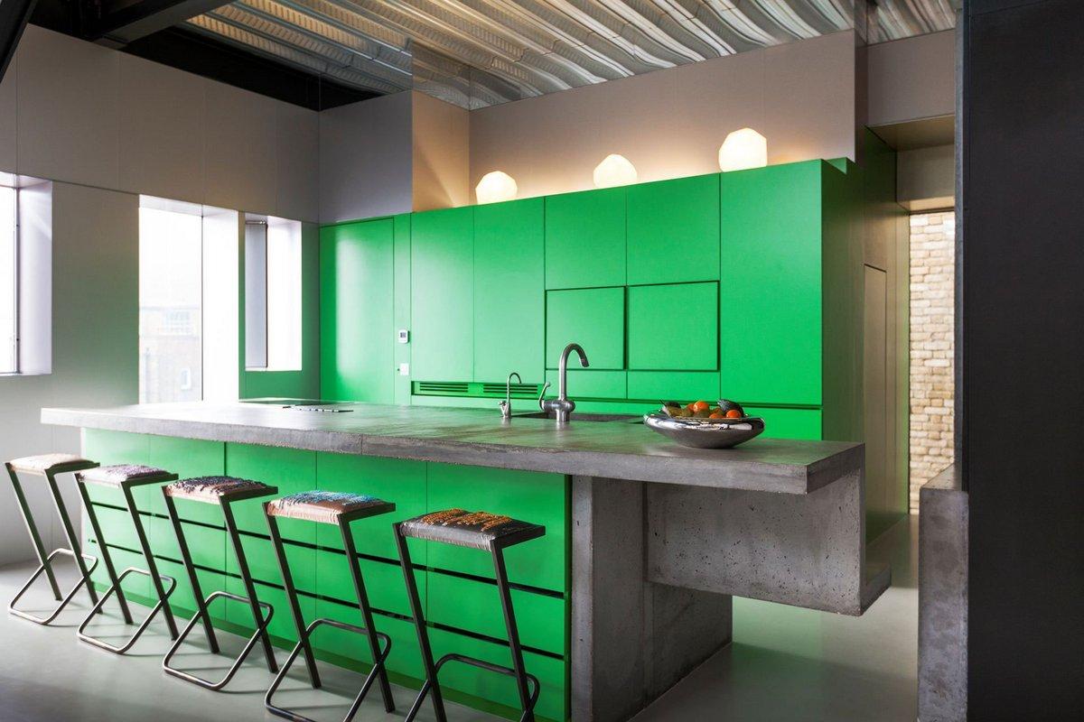 Adjaye Associates, самые дорогие дома фото, элитная недвижимость в лондоне, бамбук в интерьере фото, кухня зеленого цвета фото, биокамины в интерьере фото