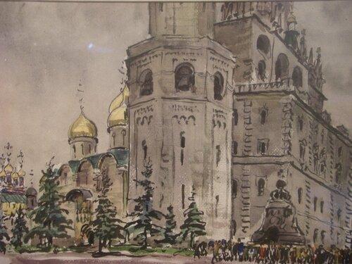 Эммануил Бенционович Бернштейн. Кремль. 1961