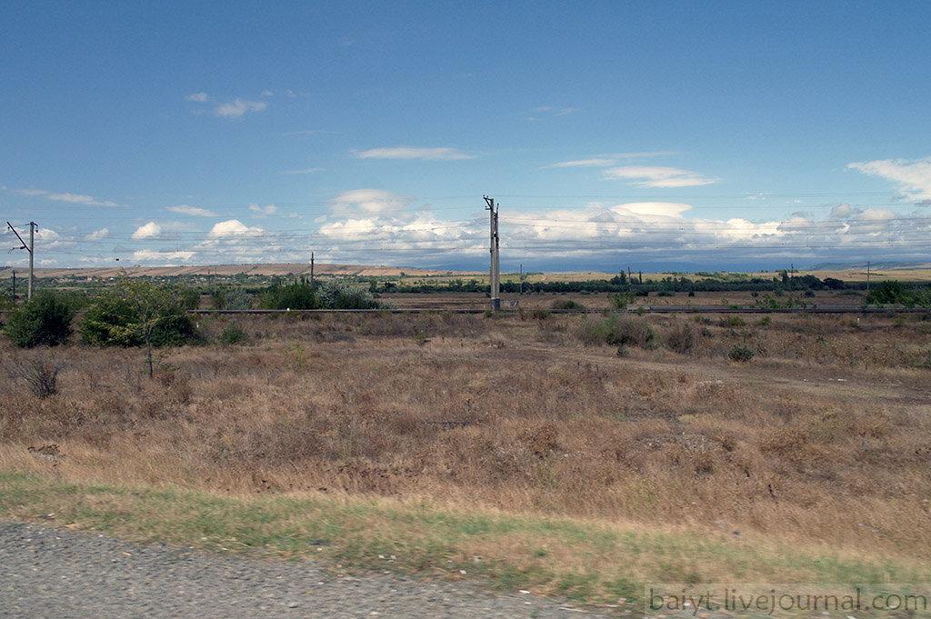 Типичный пейзаж Шида-Картли