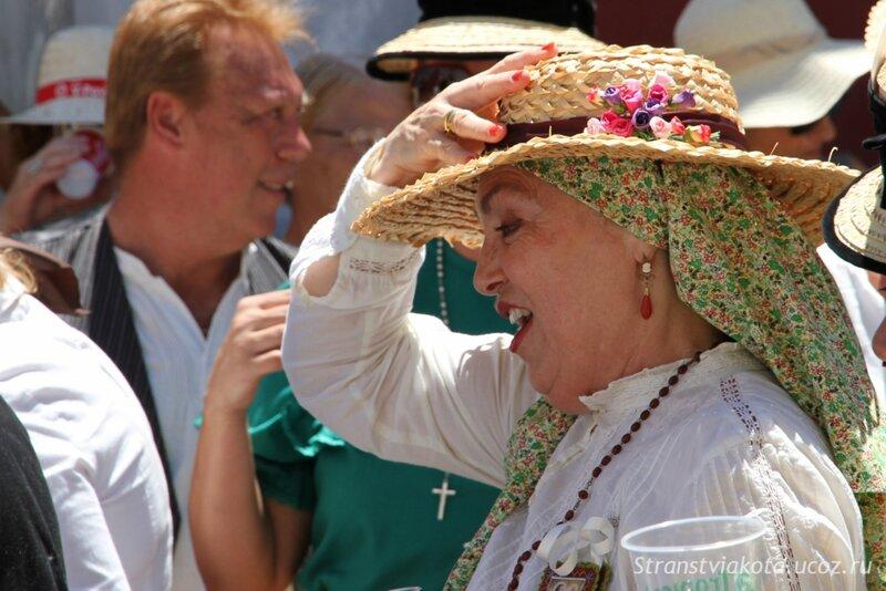 Тенерифе, Гарачико, процессия у Успению Богородицы