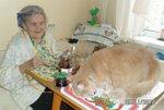 Ольга Никифоровна-95 и Тяпа