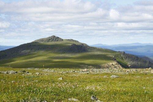 Иовское плато с перевала Иовские ворота