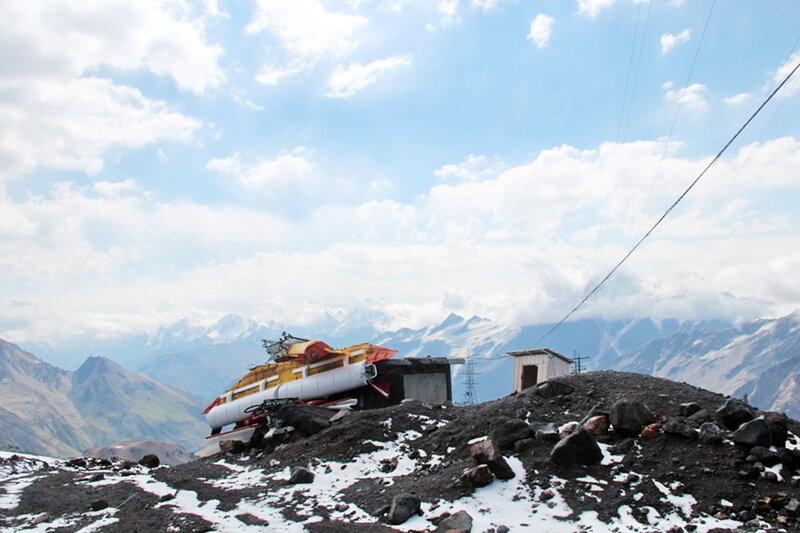 Август 2012, поход, горы, Кавказ, Эльбрус, фотографии Виталия Жигулина