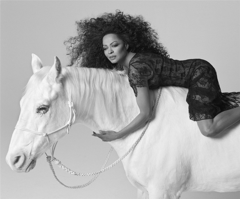 Diana Ross / Дайана Росс - звезды Голливуда, фотограф Firooz Zahedi