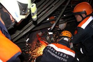 СК выясняет причины обрушения здания ТЦ во Владивостоке