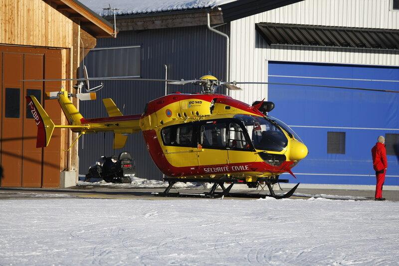Вертолёт спасателей