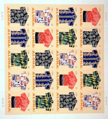Гавайские марки 2012 года