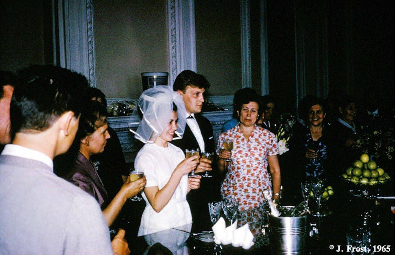 1965. Ленинград. Свадьба