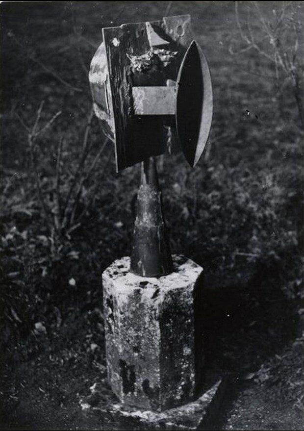 1931. Пикассо. Скульптура Мегафон. Буажелу
