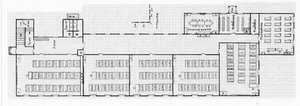 Схема 1-го этажа Мневниковской