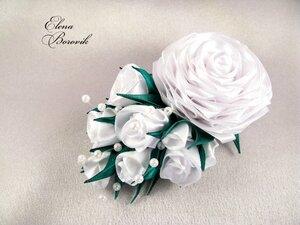 Прекрасные цветы канзаши - Страница 2 0_b4e50_1a3cd299_M