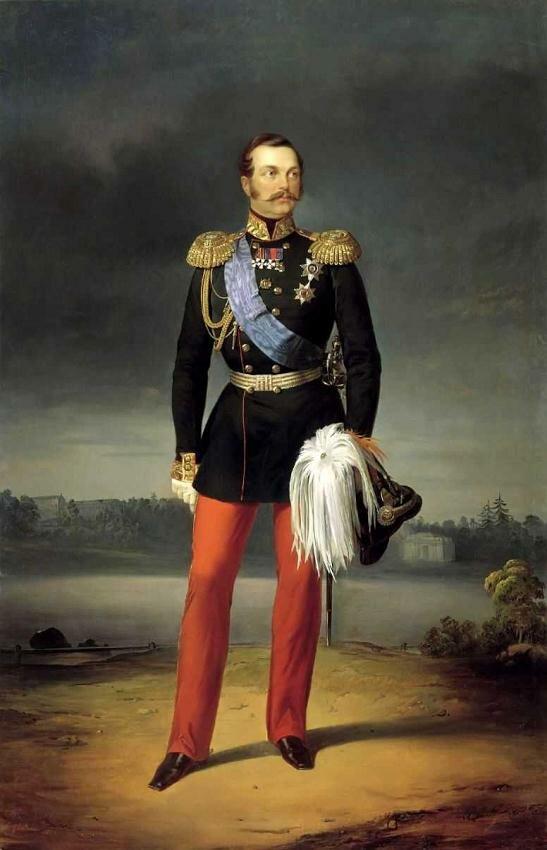 Александр II, 12-й император Всероссийский 1856 г.Ботман Егор Иванович (?-1891) из Любека.