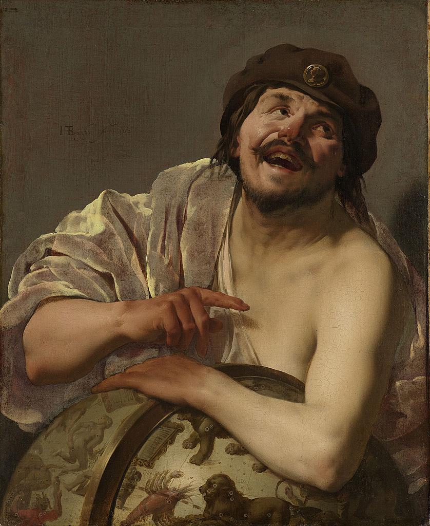 Democritus, 1628, Hendrick ter Brugghen (1588-1629), Rijksmuseum