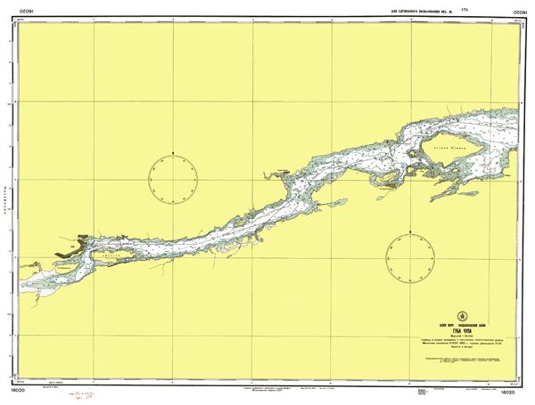 Губа Чупа - морские навигационные карты на lenv.ru