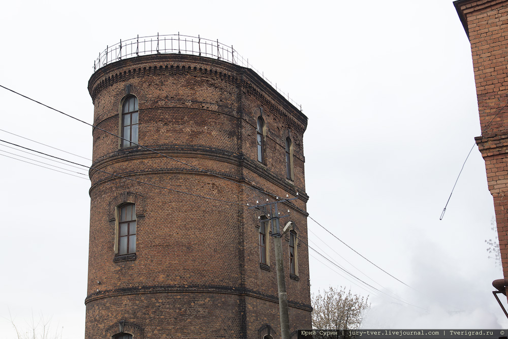 Водонапорные башни Твери