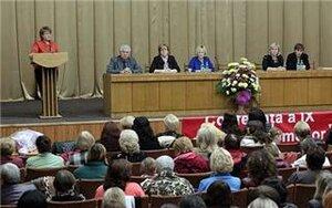 Союз женщин намерен вернуть коммунистов к власти