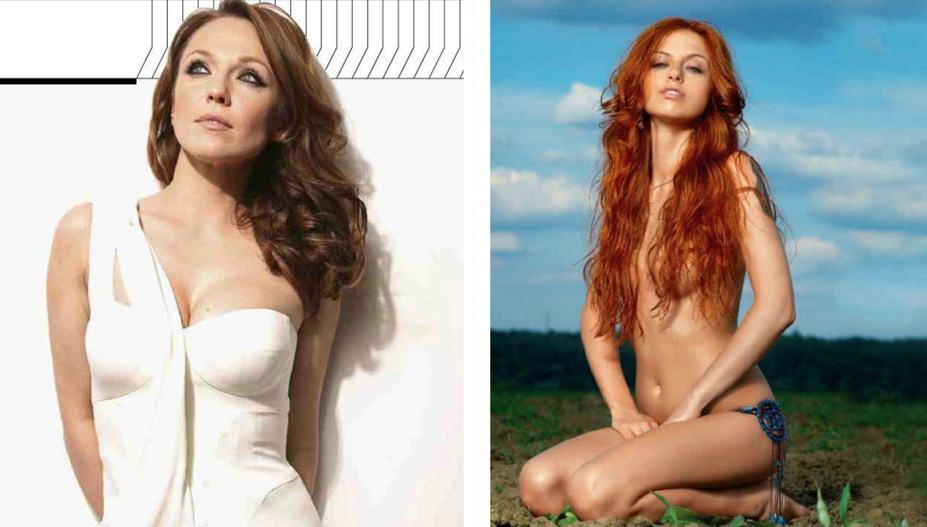 Альбина Джанабаева, Ирина Забияка - 100 самых сексуальных женщин страны - Россия Maxim hot 100