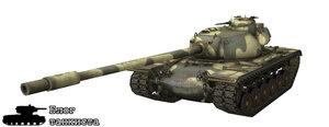 Т110 в World of Tanks